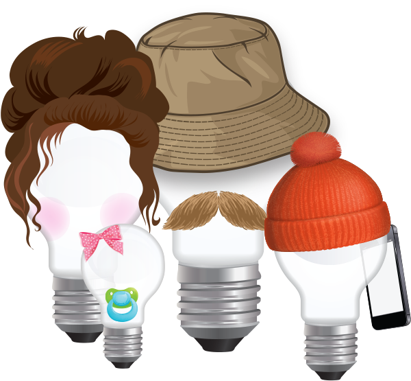Family of lightbulbs
